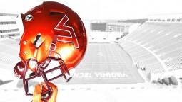 Virginia Tech Football Helmet