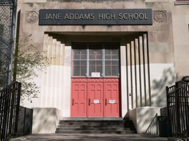 (NYC Department of Education ) Jane Addams High School For Academic Careers in Bronx.<br />