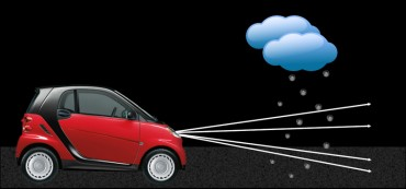 (Carnegie Mellon Ilumination and Imaging) Carnegie Mellon University researchers develop smart headlight to prevent car drivers from getting distracted during dense rainfall or snow.<br />