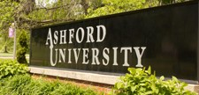 Sreenshot of Ashford University