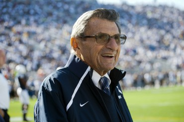 Former Penn State Head Football Coach Joe Paterno