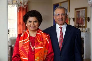 Chandrika and Ranjan Tandon