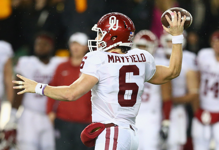how tall is baker mayfield