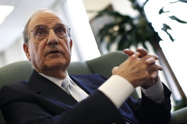 George Mitchell in an interview with Reuters