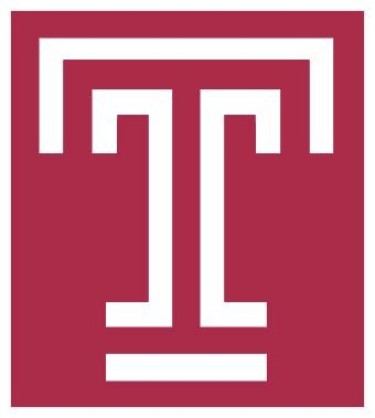 Screenshot of Temple University Logo