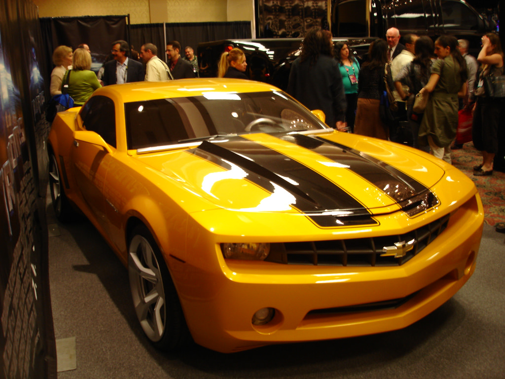2017 Chevrolet Camaro Bumblebee Wallpaper | HD Car Wallpapers