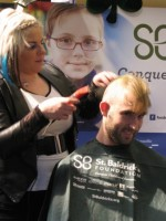Hofstra University Students Shave Their Heads to Raise Funds for Cancer