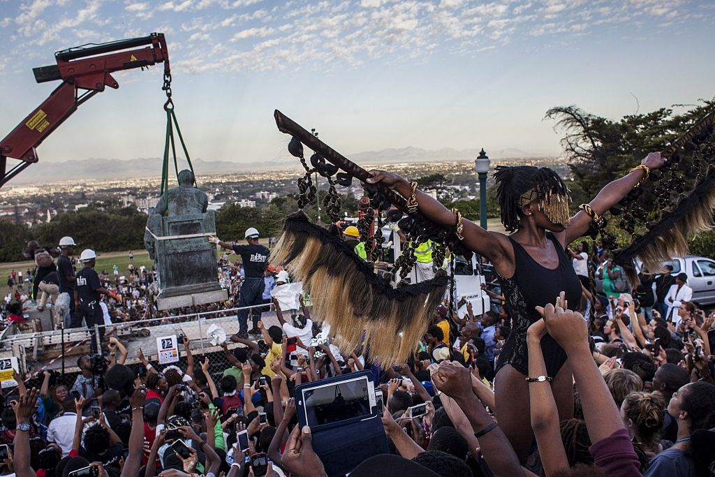 south africa news rhodes suspends academic activities protests continue