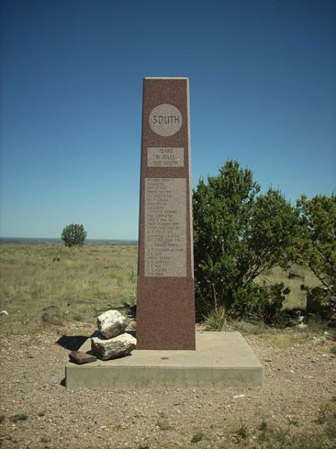 The summit of Black Mesa, highest point in Oklahoma
