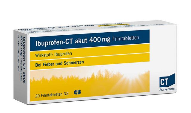 ibuprofen and paracetamol combination tablets
