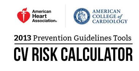 cardiovascular risk calculator statin