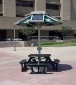 Solar-Powered Picnic Tables Coming to Colorado Public University at $40,000+ for Set of 4