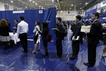 After grad job slump, big hiring is back at U.S. colleges