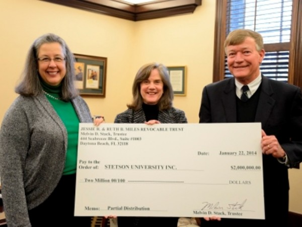 Military Couple Donates $2 Million to Stetson to Endow Academic Scholarship.