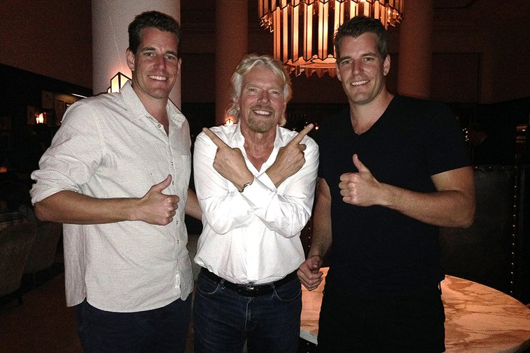 Winklevoss Twins Buy Tickets 700 And 701 On Virgin Galactic's ...