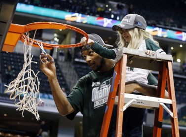 Adreian Payne and Lacey Holsworth