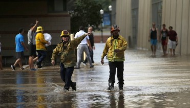 L.A. Firefighters - UCLA Flood