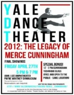 Yale dance troupe performs work by Merce Cunningham