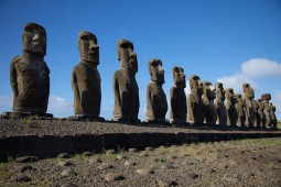 Easter Island Stone Faces