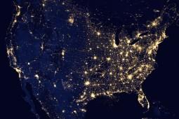 The U.S. At Night