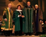 The College of William & Mary Awards Biddy Martin an Honorary Degree
