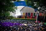 Rain fails to dampen Emory's 167th Commencement celebration