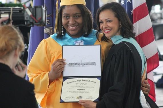 African American graduation