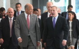 Jeh Johnson Visits ICE And Customs Facilities In Chicago