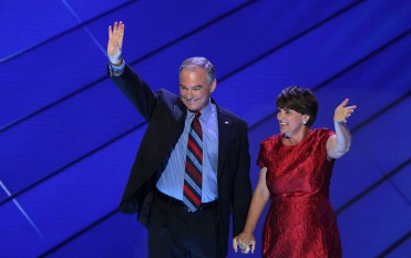 Tim Kaine and wife Anne Holton