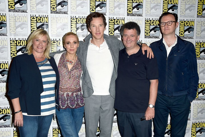 BBC's 'Sherlock' at the 2016 San Diego Comic Con.