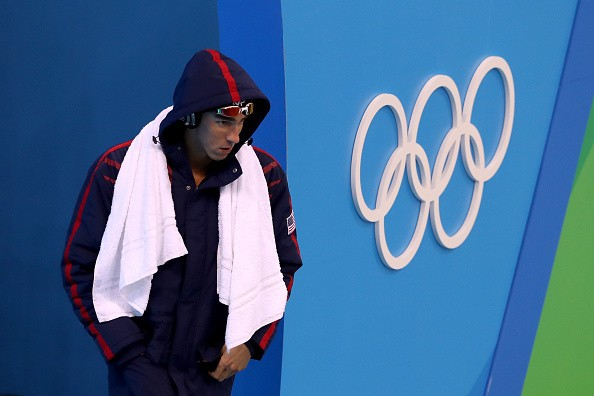 The Moment Chad Le Clos Realized Michael Phelps Would Win
