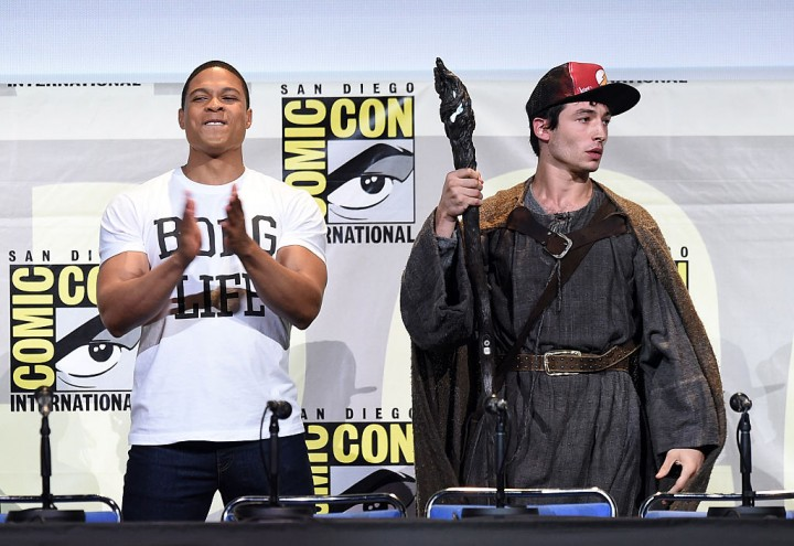 Cyborg to Make Appearance in Ezra Miller's 'The Flash' Movie
