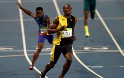 Usain Bolt at the 2016 Rio Olympics