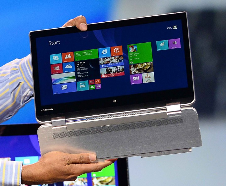 Lenovo Yoga Tablet with Windows Lets You Use a Fork or Scissors as ...