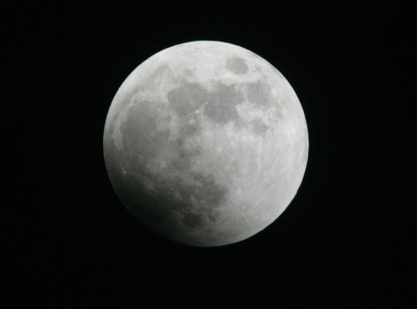 UFO hunters previously claimed to have found antenna on moon's surface. Now, they claim to see a spacecraft sucking sun's energy.