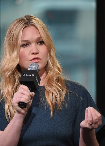 Actress Julia Stiles attends the AOL Build Speaker Series at AOL Studios in New York