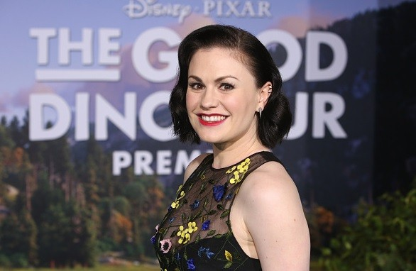 Actress Anna Paquin attends the World Premiere Of Disney-Pixar's THE GOOD DINOSAUR