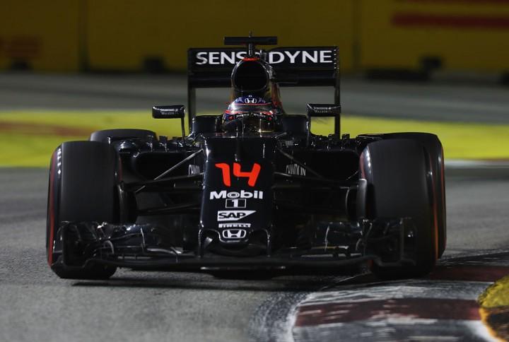 Fernando Alonso of Spain driving the McLaren Honda Formula 1 Team.
