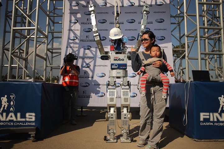 Team KAIST at the DARPA Robotics Challenge