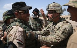 U.S. Military Trains Iraqi Army