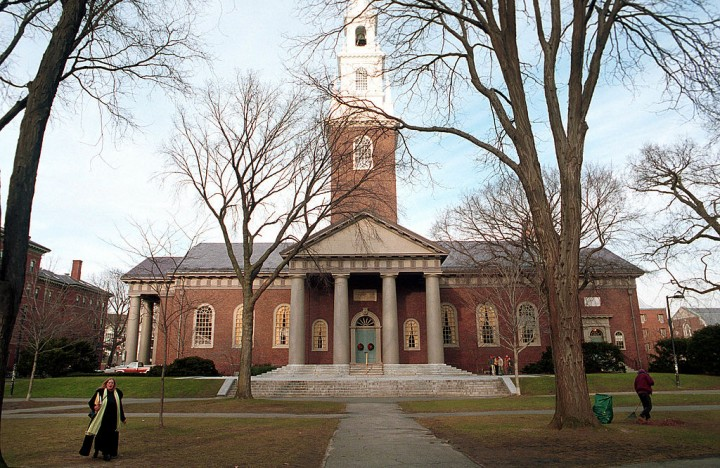 Harvard University dining hall workers go on strike