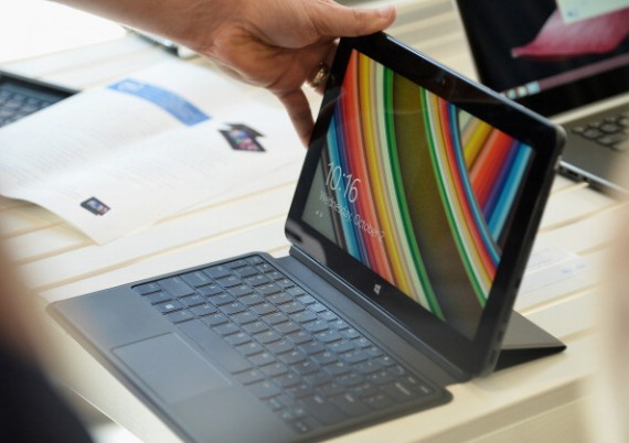 Dell Press Conference To Introduce The Venue Tablet Line And New XPS Laptops