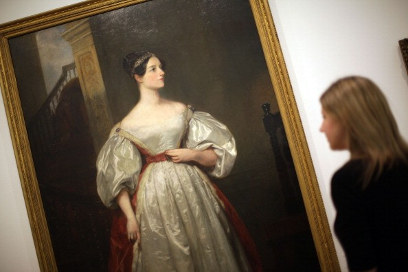'Ada Lovelace' Painting At Whitechapel Art Gallery