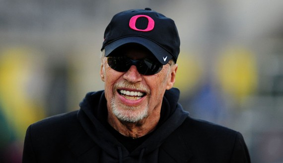 Nike co-founder Phil Knight gives donation to the University of Oregon
