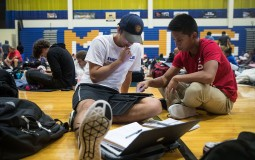 Florida Students Do Their Schoolwork Remotely Amid the Storm