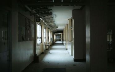 Empty school corridors
