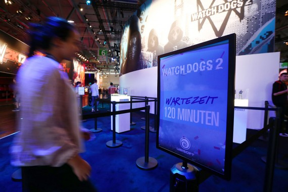 """""""Watch Dogs 2"""" frame rates may drop to 45 when driving full-tilt over at downtown San Francisco."""
