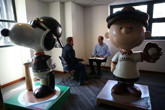 Job Fair Held At AT&T Park In San Francisco