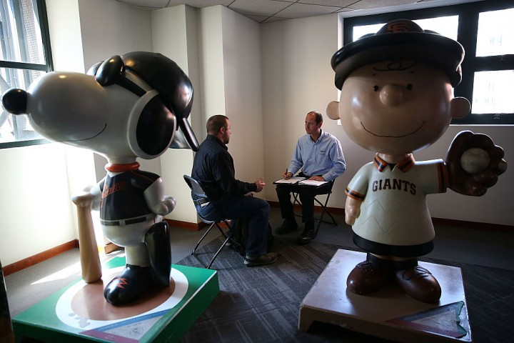 Job Fair Held At AT&T Park In San Francisco