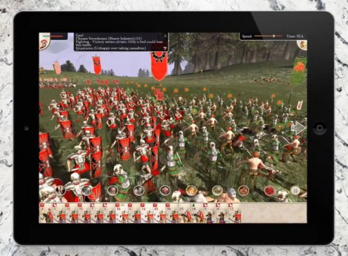 'Rome: Total War' In iPad Version To Launch This Week